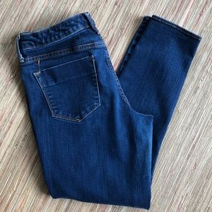 Mossimo Mid Rise Denim Legging Crop
